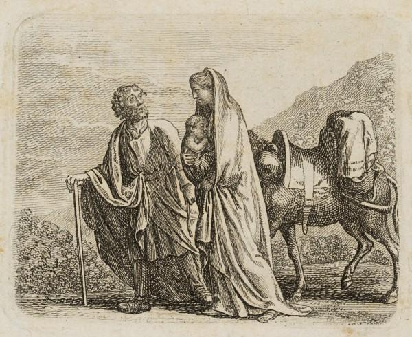 Die Flucht der heiligen Familie nach Aegypten
