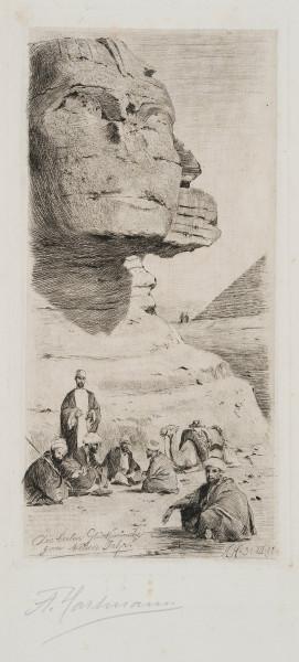 Die große Sphinx in Gizeh