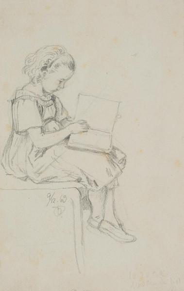 Porträt einer Tochter des Künstlers