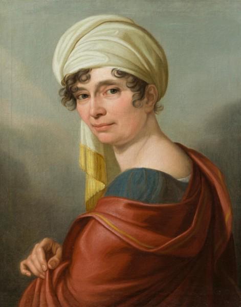 Frau mit Turban