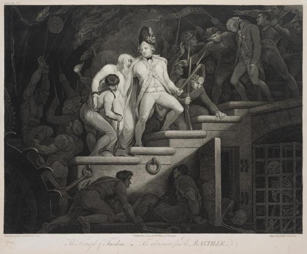 nach James Northcote: The Triumph of Freedom - Der Triumph der Freiheit