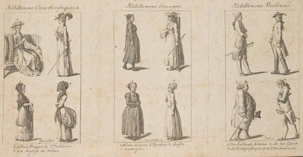 Kleidermode für Damen und Herren