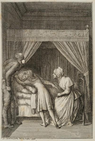 Hermann bei seinem Großvater