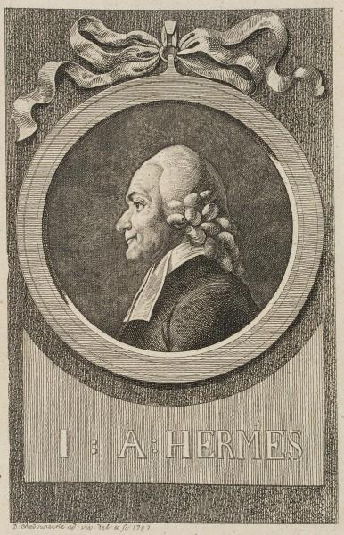 Portrait von Johann August Hermes