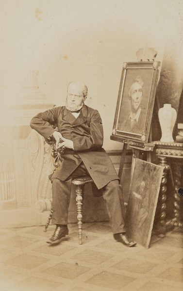 Adolf von Menzel, Sitzporträt