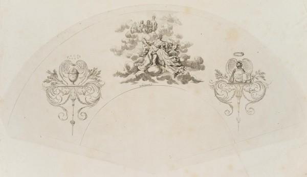 Apotheose König Friedrich's II (oder der zweite Fächer)