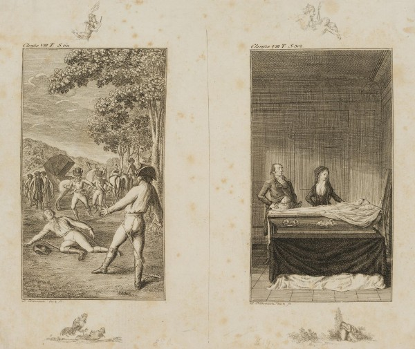 Lovelace's Duell & Clarissa im Sarge