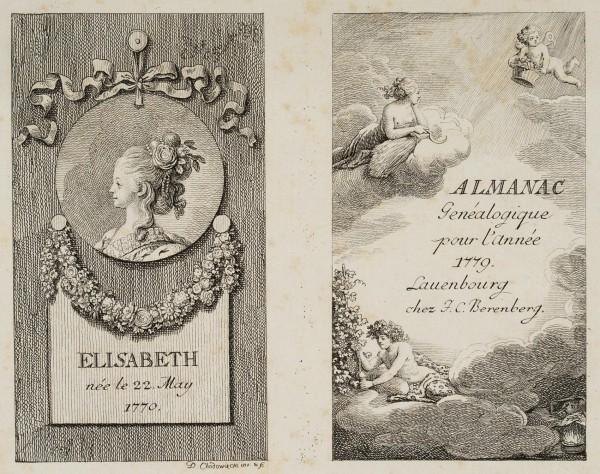 Almanach-Titel Lauenburg