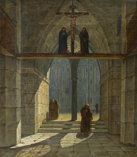 Kirchenausgang