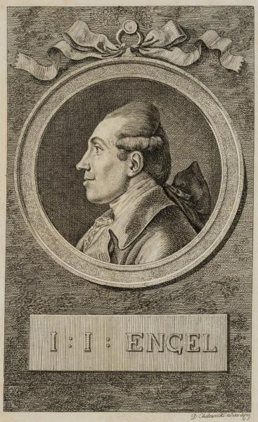 Porträt von Johann Jakob Engel