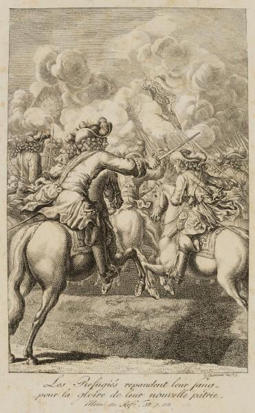 Der große Kurfürst reitet in die Schlacht