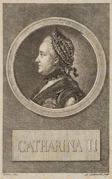 Portrait von Katharina der Großen