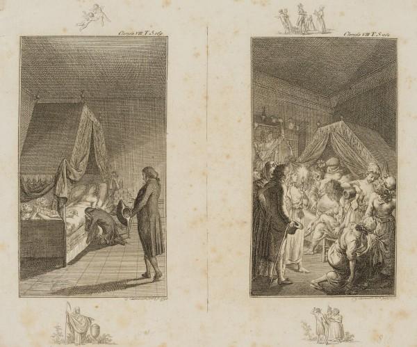 Die friedliche Clarisse im Sterbebett & Die wütende Sinclair im Sterbebett