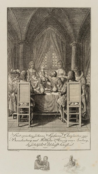 Kurfürst Johann Sigismund von Brandenburg im Streit über die Jülischen Erbschaftsangelegenheiten