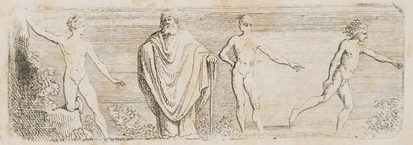 Eine kleine etruskische Darstellung