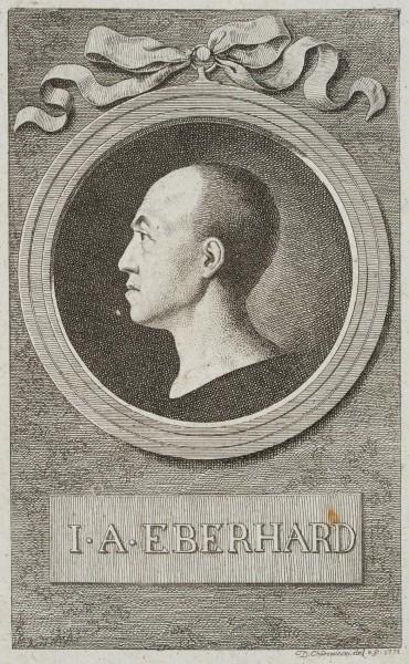 Portrait von Prof. Johann August Eberhard