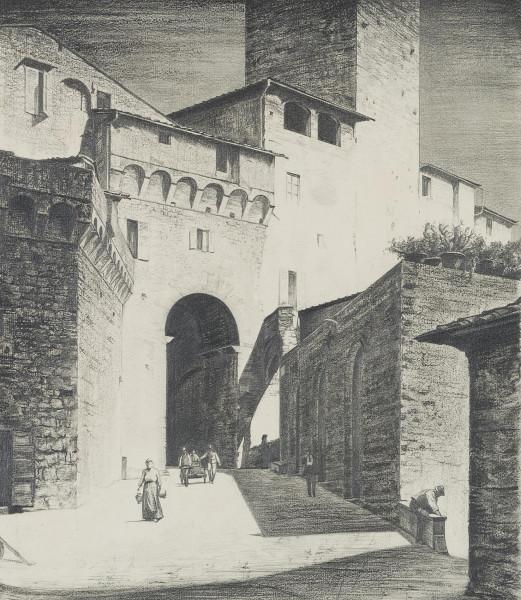 Arco dei Becci in San Gimignano