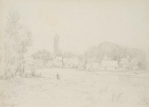 Landschaft bei Fontainebleau