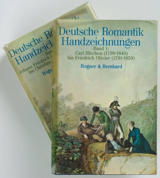 Deutsche Romantik Handzeichnungen. 2 Bände