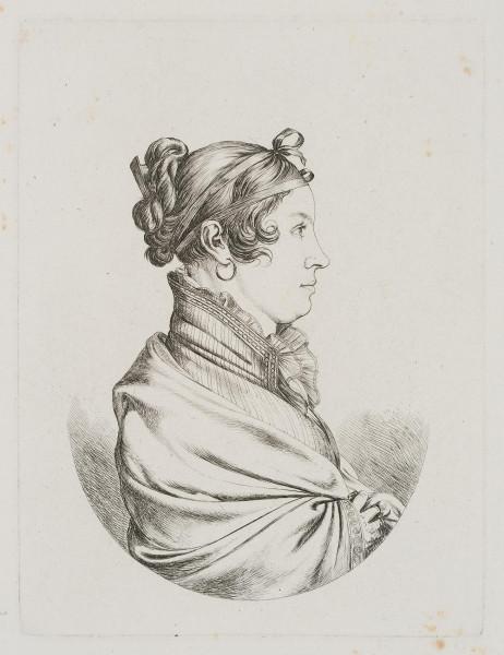 Antonia Feil geb. Kammerhuber, die Frau des Metallwarenfabrikanten Joseph Feil