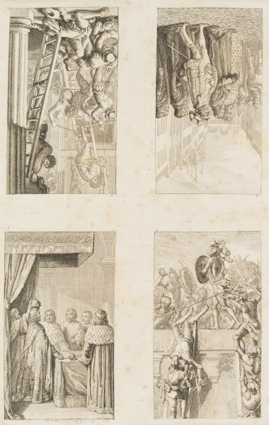 Vier Blätter zur Preussisch-Brandenburgischen Staatengeschichte