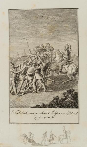 Überfall eines Sachsen auf den Ablassprediger Johann Tetzel