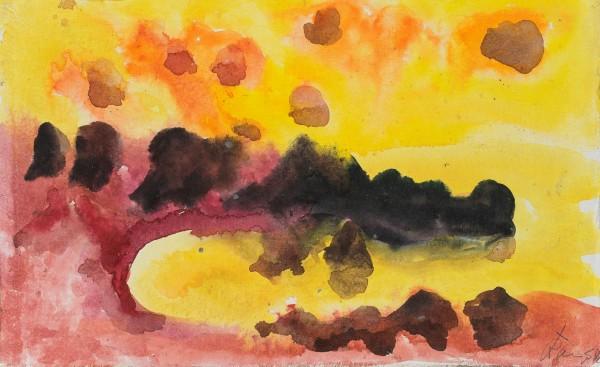 Vulcano, Ansicht des Stromboli