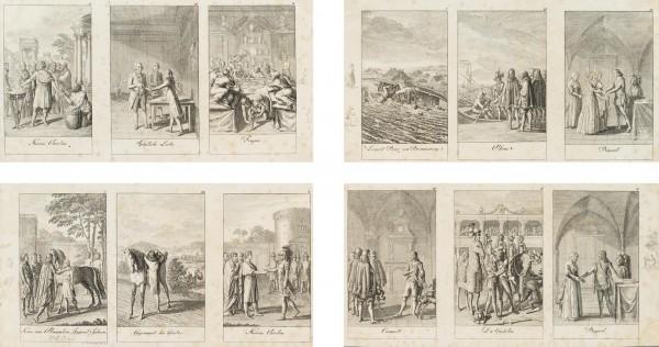 12 Blätter zu der älteren, mittleren und neueren Geschichte