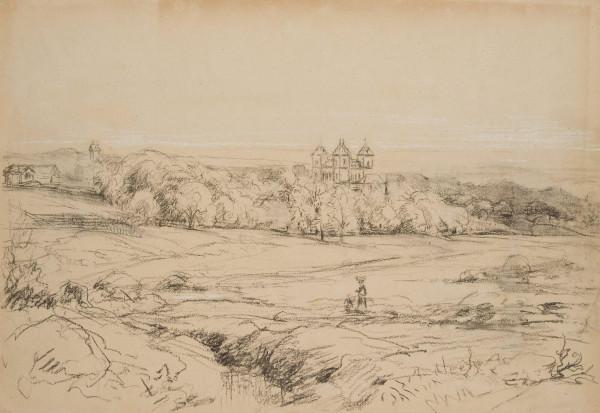 Blick auf die Villa Reiß in Kronberg