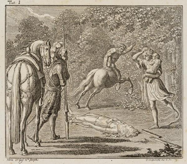 Idris im Harnisch vertreibt den bösartigen Zentauren