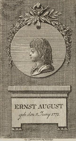 Portrait zum Lauenburger Genealogischen Kalender für 1780