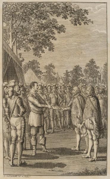 Wallenstein im Feldlager