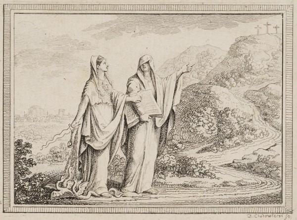 Die Offenbarung und die Vernunft vor dem Berg Golgatha