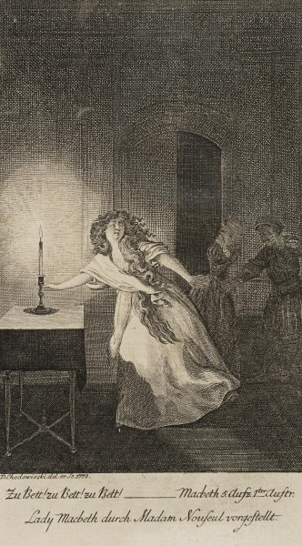 Lady Macbeth im Wahn