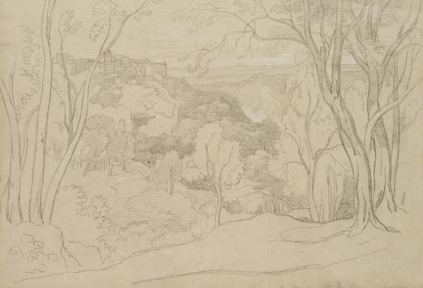 Tivoli mit Tempel der Vesta