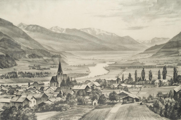 Landschaft bei Jenbach in Tirol