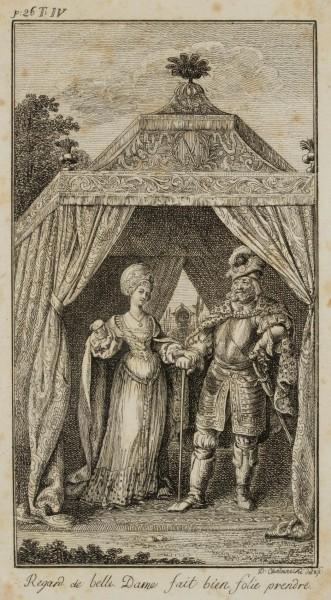 Sibille und Wittekind in seinem Zelte