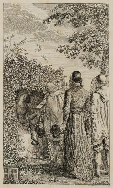 Heinrich I. beim Vogelfang