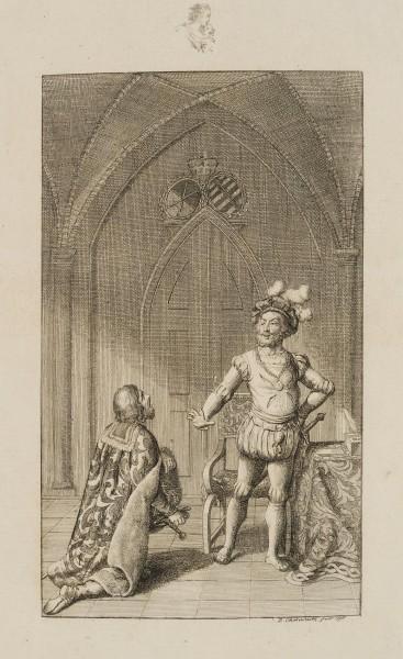 Heinrich, Herzog von Sachsen schlägt die Königskrone aus