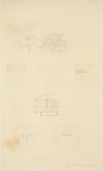 """Berliner Architektenverein. """"Schweizerhaus ganz in Holz"""""""