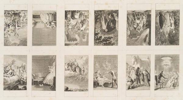 12 Blätter zu Blumauer's Aeneide, Bogen