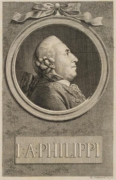 Portrait von J. A. Philippi