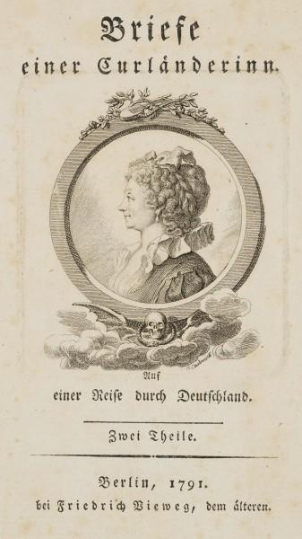 Portrait von Sophie Schwarz, geb. Becker