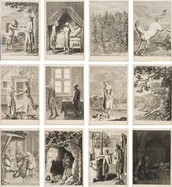 Illustrationen zu Fabeln und Erzählungen