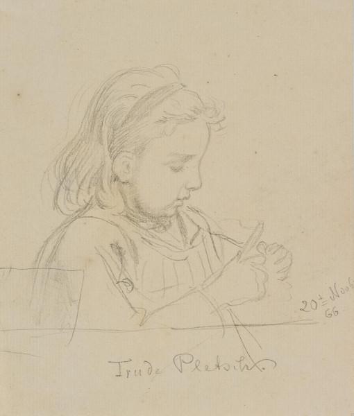 Porträt der Tochter Trude