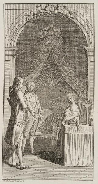 Der Marquis stellt seine Frau vor