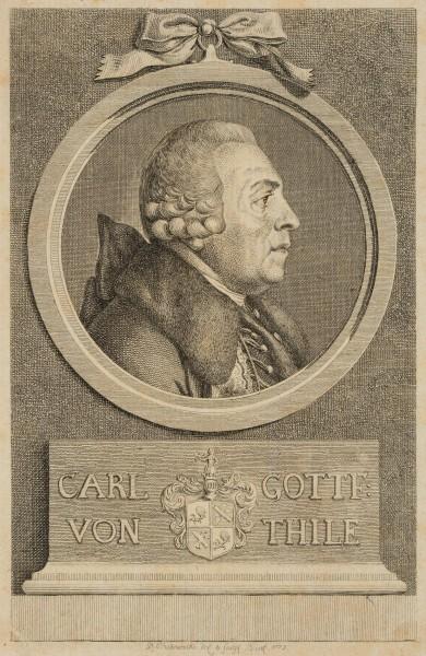 Portrait von Carl Gottfried von Thile