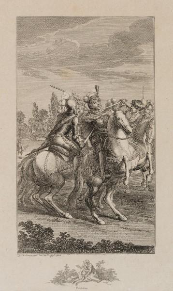 Der Herzog von Schwaben ersticht Kaiser Albrecht von Österreich