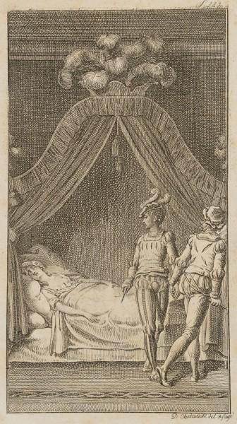 Mörder am Bette der Cassandra Bongiani