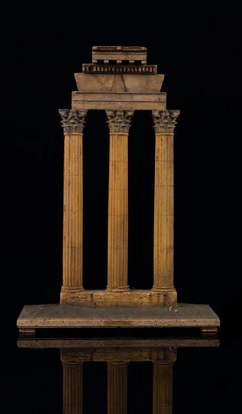 Tempel der Dioskuren in Rom